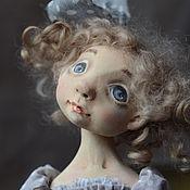 Куклы и игрушки ручной работы. Ярмарка Мастеров - ручная работа серая шейка. Handmade.
