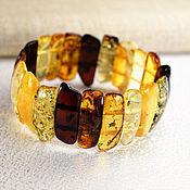 Украшения handmade. Livemaster - original item Mix bracelet, Baltic amber. Handmade.