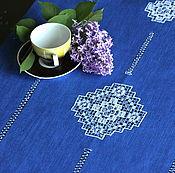 Для дома и интерьера handmade. Livemaster - original item Track 3 Kuban linen blue. Handmade.