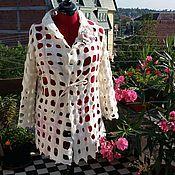 Одежда ручной работы. Ярмарка Мастеров - ручная работа Валяный жакет Для нежного времени года. Handmade.