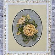 """Картины и панно ручной работы. Ярмарка Мастеров - ручная работа Картина """"Розы для любимой"""". Handmade."""
