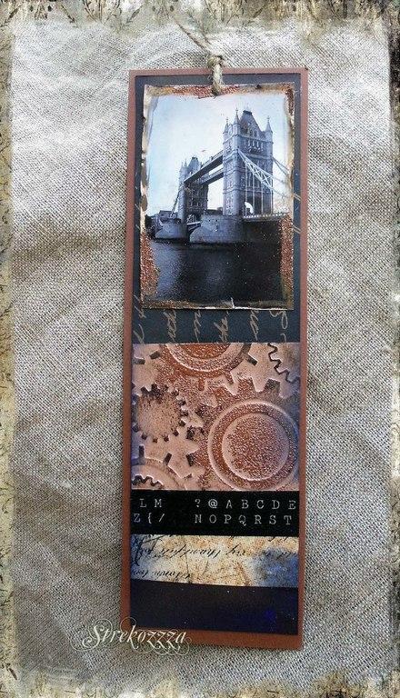 """Закладки для книг ручной работы. Ярмарка Мастеров - ручная работа. Купить Закладка из коллекции  """"Шерлок и Лондон"""" (№ 1). Handmade."""