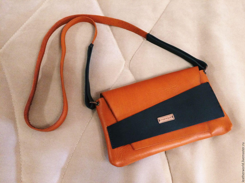 b8caa98e8b00 Женские сумки ручной работы. Ярмарка Мастеров - ручная работа. Купить  Маленькая кожаная сумочка.