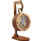 """Часы каминные ручной работы. Ярмарка Мастеров - ручная работа Настольные часы """"Тик-так"""". Handmade."""