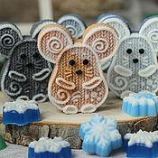 Мыло ручной работы. Ярмарка Мастеров - ручная работа Мышка вязаная, мыло ручной работы. Handmade.