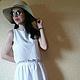 Костюмы ручной работы. Ярмарка Мастеров - ручная работа. Купить Летний костюм. Handmade. Белый, одежда для пляжа, одежда для женщин