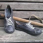 Обувь ручной работы. Ярмарка Мастеров - ручная работа Кожаные полуботинки АРАРАТ. Handmade.