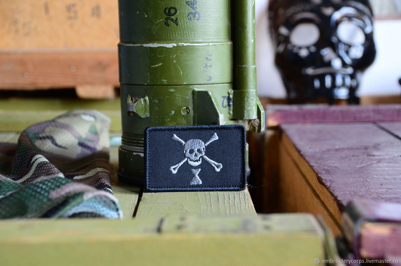 Патч флаг пирата Эмануэля Уайнна с липучкой, Украшения субкультур, Москва,  Фото №1