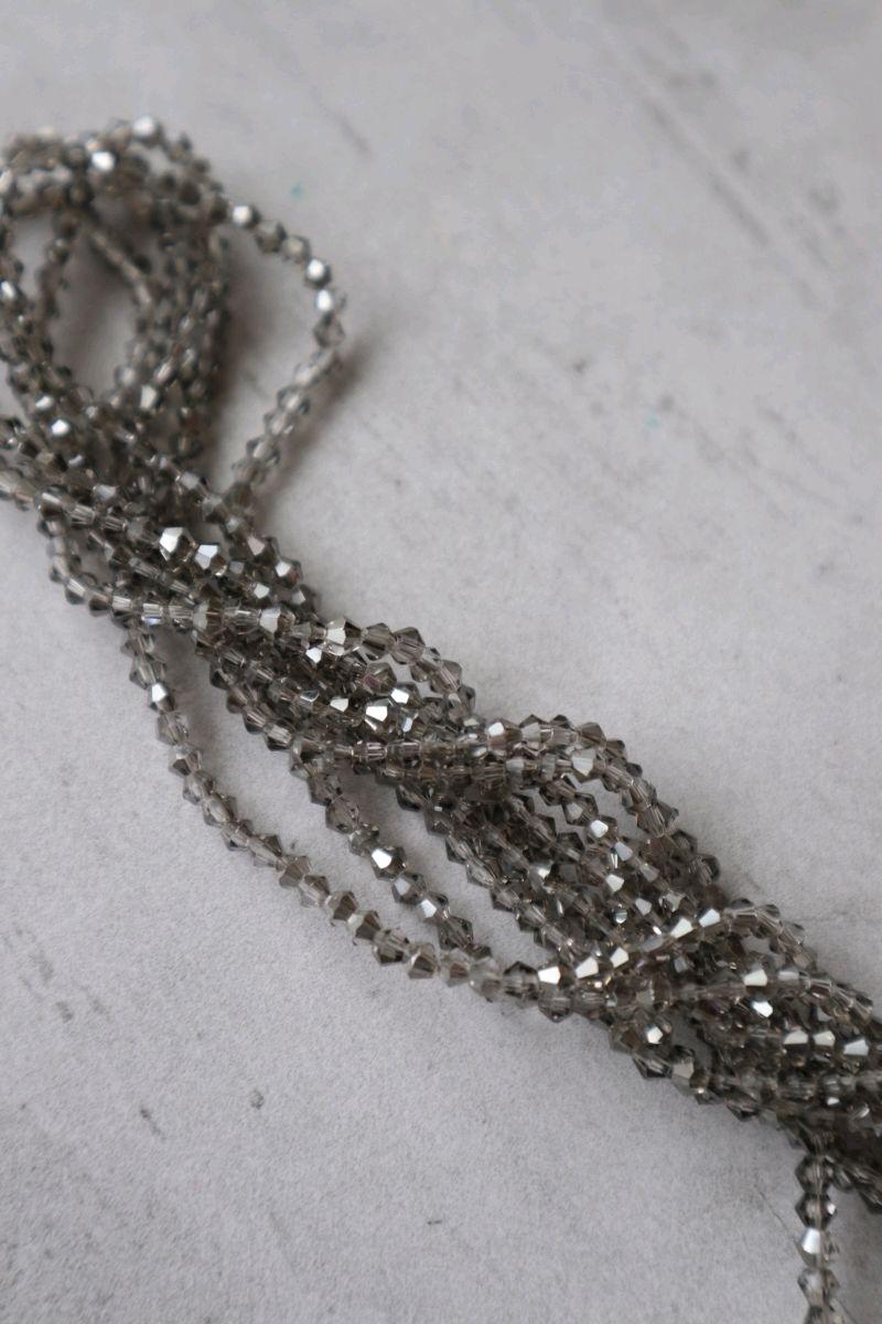 Биконусы 3мм цвет Серебро, Аксессуары для вышивки, Тольятти,  Фото №1