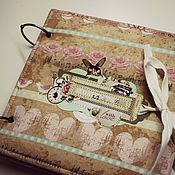 Подарки к праздникам handmade. Livemaster - original item Scrapbook album and Memory. Handmade.