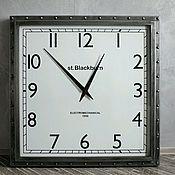 Для дома и интерьера ручной работы. Ярмарка Мастеров - ручная работа Часы Loft стальные. Handmade.