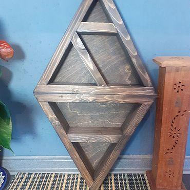 Для дома и интерьера ручной работы. Ярмарка Мастеров - ручная работа Полка для мелочей, минералов, украшений, коллекций. Handmade.