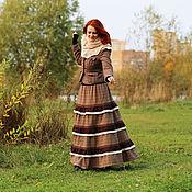 Одежда ручной работы. Ярмарка Мастеров - ручная работа Юбка шерстяная в стиле бохо. Handmade.