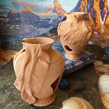 """Для домашних животных, ручной работы. Ярмарка Мастеров - ручная работа """"Старинная вазочка"""". Декорация для аквариума.. Handmade."""