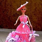 Цветы и флористика ручной работы. Ярмарка Мастеров - ручная работа Барби с зонтом. Handmade.