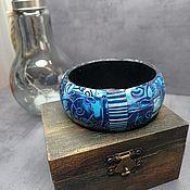 Украшения handmade. Livemaster - original item Picasso bracelet made of polymer clay. Handmade.