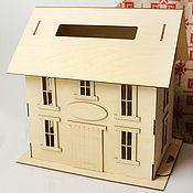 """Свадебный салон ручной работы. Ярмарка Мастеров - ручная работа Свадебная казна """"Наш дом"""". Handmade."""