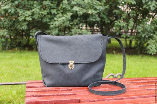 Женские сумки ручной работы. Ярмарка Мастеров - ручная работа. Купить черная сумка из кожи женская ручной работы. Handmade.