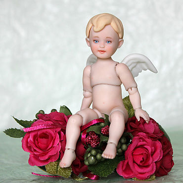 Куклы и игрушки ручной работы. Ярмарка Мастеров - ручная работа Ангел bjd 12 см. Handmade.