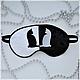 Медитация ручной работы. Ярмарка Мастеров - ручная работа. Купить Маска для Сна! Сладких снов ! День и Ночь. Котики. Handmade.