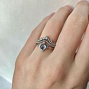 Украшения handmade. Livemaster - original item Set of 3 silver rings. Handmade.
