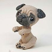 Куклы и игрушки ручной работы. Ярмарка Мастеров - ручная работа Валяная игрушка «Цуцик». Handmade.