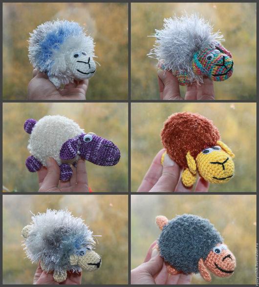 Игрушки животные, ручной работы. Ярмарка Мастеров - ручная работа. Купить Овечка. Handmade. Овечка в подарок, овечка символ года