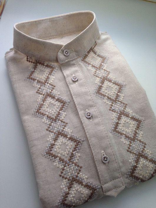 Этническая одежда ручной работы. Ярмарка Мастеров - ручная работа. Купить Детская Рубашка с вышивкой. Handmade. Косоворотка детская