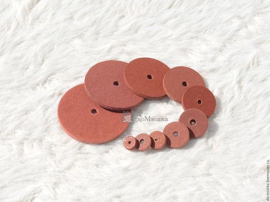 Куклы и игрушки ручной работы. Ярмарка Мастеров - ручная работа. Купить диск  fibre (100 шт) -10% 6-25 мм. Handmade.