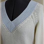 """Одежда ручной работы. Ярмарка Мастеров - ручная работа Пуловер """"Нежнее нежного"""" с кашемиром. Handmade."""