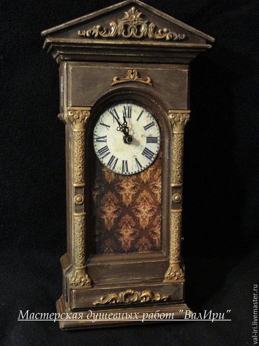 Ключница-часы на стену мастерской душевных работ `ВалИри`
