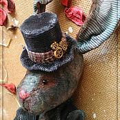 Куклы и игрушки ручной работы. Ярмарка Мастеров - ручная работа Мистер Кролик. Handmade.