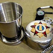 Сувениры и подарки handmade. Livemaster - original item Folding glass with symbols of the USSR