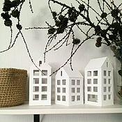 Для дома и интерьера ручной работы. Ярмарка Мастеров - ручная работа Домик Фонарик средний. Handmade.