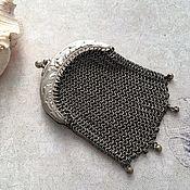 Сумки винтажные ручной работы. Ярмарка Мастеров - ручная работа Старинный кошелечек, посеребрение, Франция. Handmade.