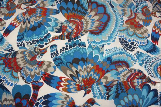 Шитье ручной работы. Ярмарка Мастеров - ручная работа. Купить Ткань Батист с принтом1 1071503 Цена за метр. Handmade.