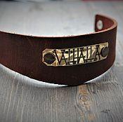 Украшения handmade. Livemaster - original item Bracelets with your quote. Handmade.