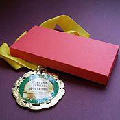"""Сувениры и подарки ручной работы. Ярмарка Мастеров - ручная работа Коробочка """"Крышка+дно"""" из дизайнерской бумаги. Handmade."""