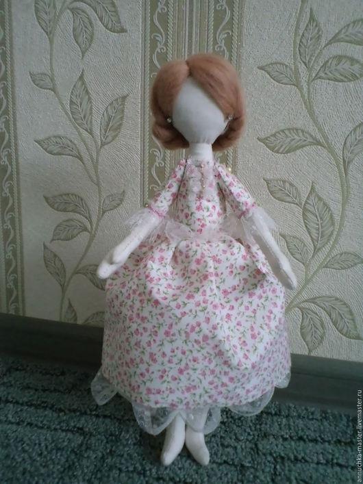 Коллекционные куклы ручной работы. Ярмарка Мастеров - ручная работа. Купить Кукла Татьяна Ручная работа Кукла в подарок Текстильная кукла. Handmade.
