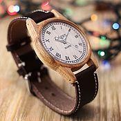 Украшения handmade. Livemaster - original item Wooden watches, men`s watches, beech, 06RD4035BB. Handmade.