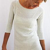 Одежда handmade. Livemaster - original item Knitted handmade dress eve cotton crochet. Handmade.
