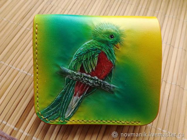 Женский кошелек двойного сложения (Bi-fold wallet) № 1, Кошельки, Ковров,  Фото №1
