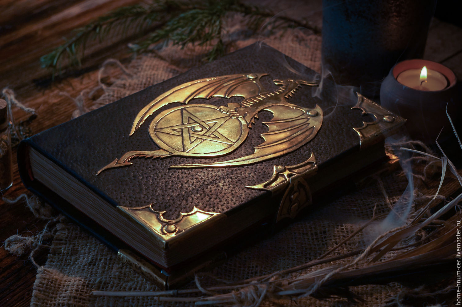 17260183 Sketchbooks The Book Grimoire Of The Black Dragon on 10 Diy Musical Instruments For Kids