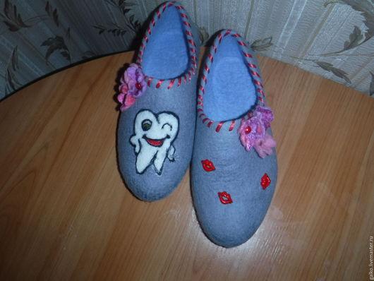 Обувь ручной работы. Ярмарка Мастеров - ручная работа. Купить домашние тапочки. Handmade. Тапочки ручной работы, тепло