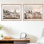 Картины и панно handmade. Livemaster - original item Paris photo paintings in the living room, architectural landscape Posters on the wall. Handmade.