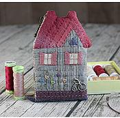Сумки и аксессуары handmade. Livemaster - original item wallet caramel house. Handmade.