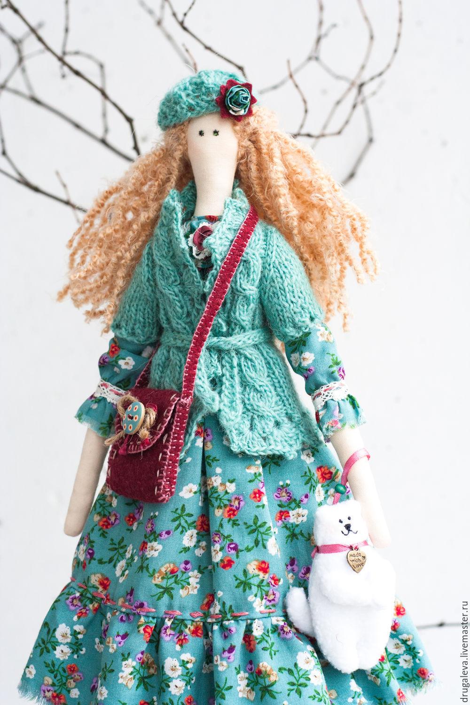Кукла тильда Алиса, текстильная кукла, интерьерная кукла, Тильды, Орел, Фото №1