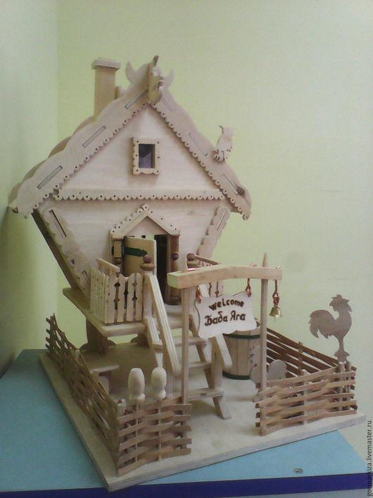 Кукольный дом ручной работы. Ярмарка Мастеров - ручная работа. Купить Дворец Бабы Яги. Handmade. Бежевый