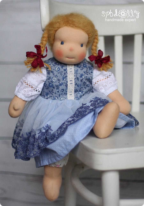 Маргарита - вальдорфская кукла ручной работы с одеждой для девочки, Вальдорфские куклы и звери, Санкт-Петербург,  Фото №1