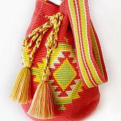 Сумки и аксессуары ручной работы. Ярмарка Мастеров - ручная работа Колумбийская сумка Mochila (Мочила) - 7. Handmade.